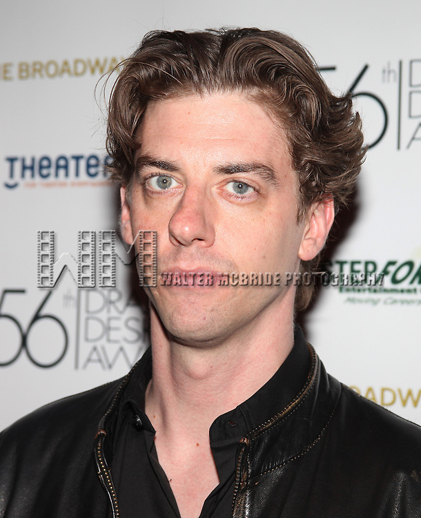 Christian Borle.attending the 56th Annual Drama Desk Award Nominees Reception at Bombay Palace in New York City.