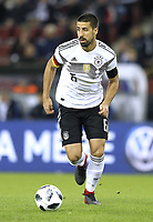 Foto : Sami Khedira ( Deutschland ) Fussball Länderspiel am Di. 14.11.2017 Deutschland - Frankreich *** Photo Sami Khedira Germany Soccer Match on Tue 14 11 2017 Germany France   <br /> Foto Insidefoto