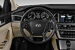 Car pictures of steering wheel view of a 2016 Hyundai Sonata Eco 4 Door Sedan Steering Wheel