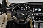 Car pictures of steering wheel view of a 2017 Hyundai Sonata Eco 4 Door Sedan Steering Wheel