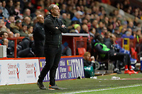 Swansea City manager Steve Cooper stands on the touch line during the Sky Bet Championship match between Charlton Athletic and Swansea City at The Valley, London, England, UK. Wednesday 02 October 2019