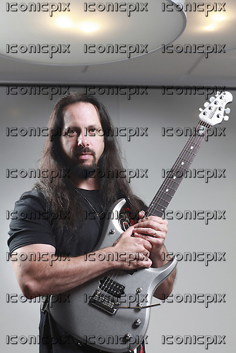 DREAM THEATER - guitarist John Petrucci - Photosession in Paris France - 19 Aug 2013.  Photo credit: Manon Violence/Dalle/IconicPix