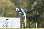 Matthew Nixon (ENG) tees off on the 3rd tee during the Final Day Sunday of the Open de Andalucia de Golf at Parador Golf Club Malaga 27th March 2011. (Photo Eoin Clarke/Golffile 2011)