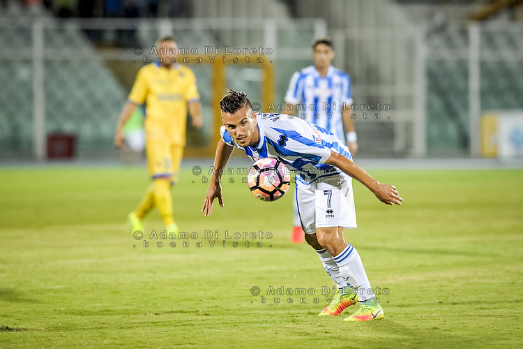 Valerio Verre (PESCARA) during the Italian Cup - TIM CUP -match between Pescara vs Frosinone, on August 13, 2016. Photo: Adamo Di Loreto/BuenaVista*photo