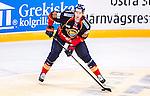Stockholm 2014-09-17 Ishockey SHL Djurg&aring;rdens IF - Leksands IF :  <br /> Djurg&aring;rdens Markus Nordlund i aktion <br /> (Foto: Kenta J&ouml;nsson) Nyckelord:  Djurg&aring;rden DIF Hockey Globen Ericsson Globe Arena SHL Leksand LIF portr&auml;tt portrait