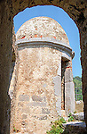 Castle turret in Portovenere Italy