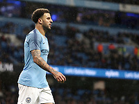 Manchester City's Kyle Walker<br /> <br /> Photographer Rich Linley/CameraSport<br /> <br /> Emirates FA Cup Fourth Round - Manchester City v Burnley - Saturday 26th January 2019 - The Etihad - Manchester<br />  <br /> World Copyright © 2019 CameraSport. All rights reserved. 43 Linden Ave. Countesthorpe. Leicester. England. LE8 5PG - Tel: +44 (0) 116 277 4147 - admin@camerasport.com - www.camerasport.com
