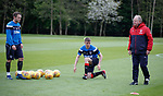 11.05.2018 Rangers training: Lee Hodson, Jordan Rossiter and Jimmy Nicholl