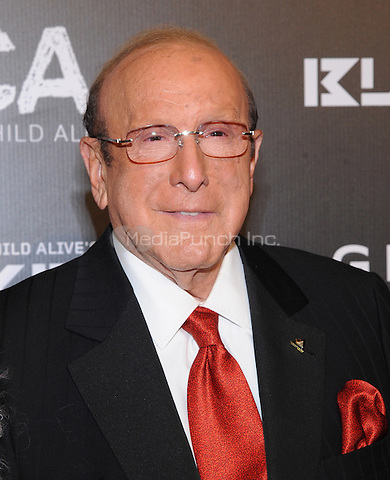 New York, NY- October 30:  Clive Davis  attends Keep a Child Alive's 11Annual Black Ball at Hammerstein Ballroom on October 30, 2014 in New York City. Credit: John Palmer/MediaPunch