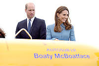 SEP 26 Prince William at naming of RRS Sir David Attenborough Boat