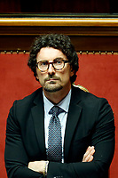 Danilo Toninelli<br /> Rome March 19th 2019. Senate. Speech of the Italian Premier about the next European Council and about the economic agreements italy/China.<br /> Foto Samantha Zucchi Insidefoto