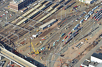 Aerial Photographs Feb. 2012 | New Haven Rail Yard - Independent Wheel True Facility Construction