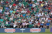 A bumper crowd looks on during Kent Spitfires vs Essex Eagles, NatWest T20 Blast Cricket at The County Ground on 9th July 2017