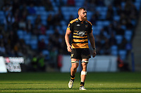 Brad Shields of Wasps. Heineken Champions Cup match, between Wasps and Bath Rugby on October 20, 2018 at the Ricoh Arena in Coventry, England. Photo by: Patrick Khachfe / Onside Images