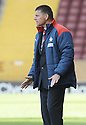 03/10/2009  Copyright  Pic : James Stewart.sct_jspa_08_motherwell_v_falkirk  .FALKIRK MANAGER EDDIE MAY DURING THE GAME AGAINST MOTHERWELL....James Stewart Photography 19 Carronlea Drive, Falkirk. FK2 8DN      Vat Reg No. 607 6932 25.Telephone      : +44 (0)1324 570291 .Mobile              : +44 (0)7721 416997.E-mail  :  jim@jspa.co.uk.If you require further information then contact Jim Stewart on any of the numbers above.........