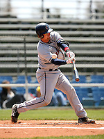 April 20, 2008:  Boston Red Sox prospect Jon Still playing with the Lancaster Jethawks against the Bakersfield Blaze.  Photo by:  Bill Mitchell/Four Seam Images