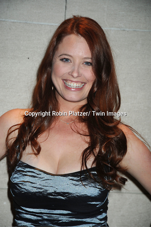 Melissa Archer attends the One Life to Live Wrap Party on November 18, 2011 at Capitale in New York City.
