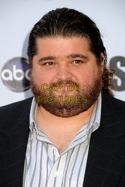 "JORGE GARCIA.""Lost"" Live: The Final Celebration held at UCLA's Royce Hall, Westwood, California, USA..May 13th, 2010.headshot portrait white blue grey gray  black beard facial hair .CAP/ADM/BP.©Byron Purvis/AdMedia/Capital Pictures."