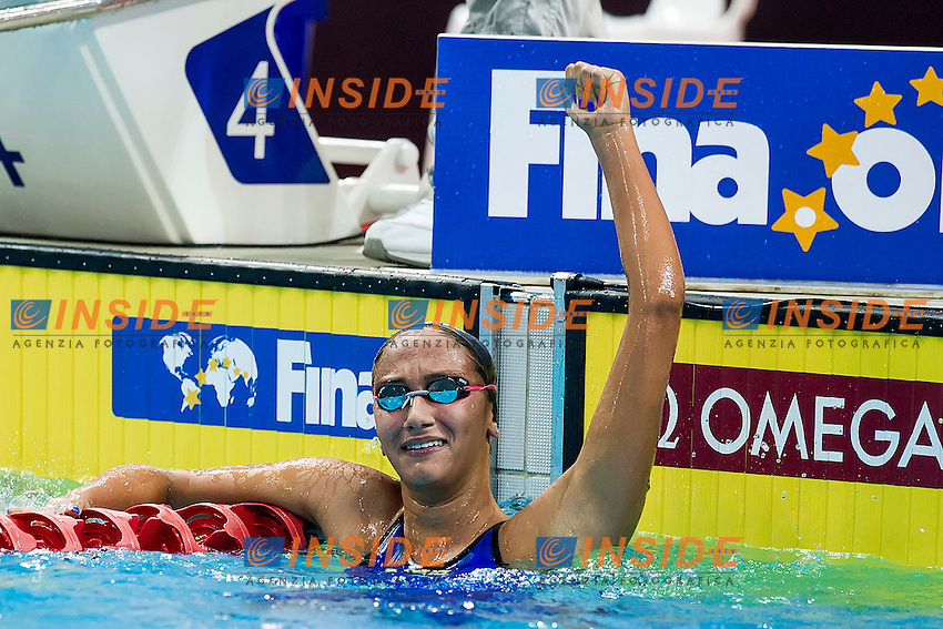 QUADARELLA Simona ITA<br /> 1500 Freestyle Women Fast Heat Gold Medal<br /> Day05 29/08/2015 - OCBC Aquatic Center<br /> V FINA World Junior Swimming Championships<br /> Singapore SIN  Aug. 25-30 2015 <br /> Photo A.Masini/Deepbluemedia/Insidefoto