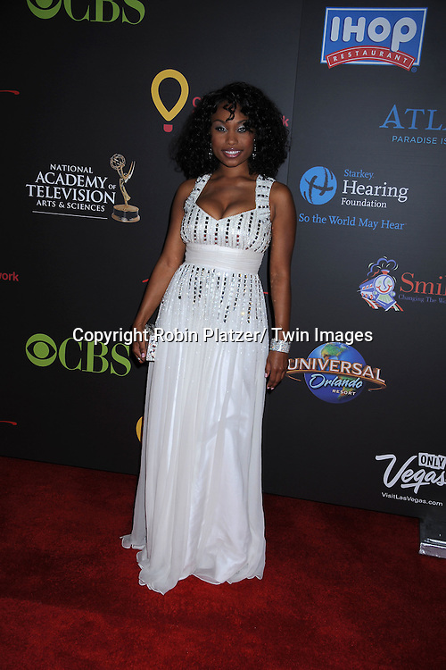 Angell Conwell arriving at the 38th Annual Daytime Emmy Awards  on June 19, 2011 at The Las Vegas Hilton in Las Vegas Nevada. ..