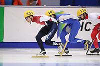 "SHORT TRACK: MOSCOW: Speed Skating Centre ""Krylatskoe"", 14-03-2015, ISU World Short Track Speed Skating Championships 2015, ©photo Martin de Jong"