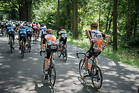 'the mule': Sjoerd van Ginneken (NED/Roompot-Nederlandse Loterij) bringing bidons back from the teamcar to his teammates <br /> <br /> Ster ZLM Tour (2.1)<br /> Stage 2: Tholen &gt; Hoogerheide (186.8km)