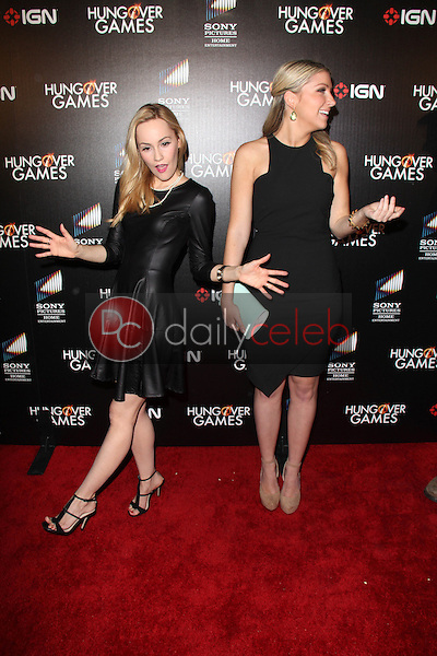 Cathy Baron, Maria Breese<br /> at &quot;The Hungover Games&quot; Premiere, TCL Chinese 6, Hollywood, CA 02-11-14<br /> David Edwards/Dailyceleb.com 818-249-4998