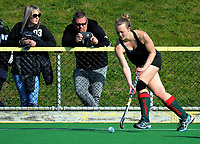 Action from the National Senior Tournament women's match between Wairarapa and Waikato at National Hockey Stadium in Wellington, New Zealand on Wednesday, 20 October 2017. Photo: Dave Lintott / lintottphoto.co.nz