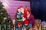 Santa Event : Shane Dillon & Karene Cahill, Listowel  visiting Santa's Cave at the North Kerry Campus on Thursday last.