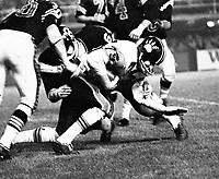 Norm Fieldgate BC Lions 1965. Copyright photograph Ted Grant