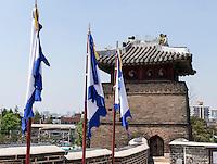 Seobukgongsimdon Pavillon der Festung von Suwon, Provinz Gyeonggi-do, Südkorea, Asien, Unesco-Weltkultueerbe