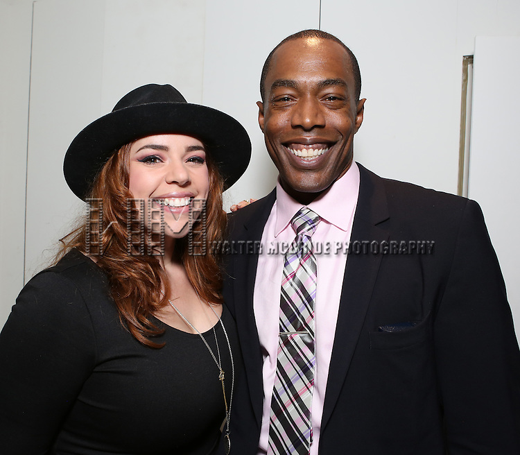 Alysha Umphress and Michael McElroy attends 'Parlor Night' A benefit evening for The Broadway Inspirational Voices Outreach Program at the home of Roy and Jenny Neiderhoffer on June 22, 2015 in New York City.