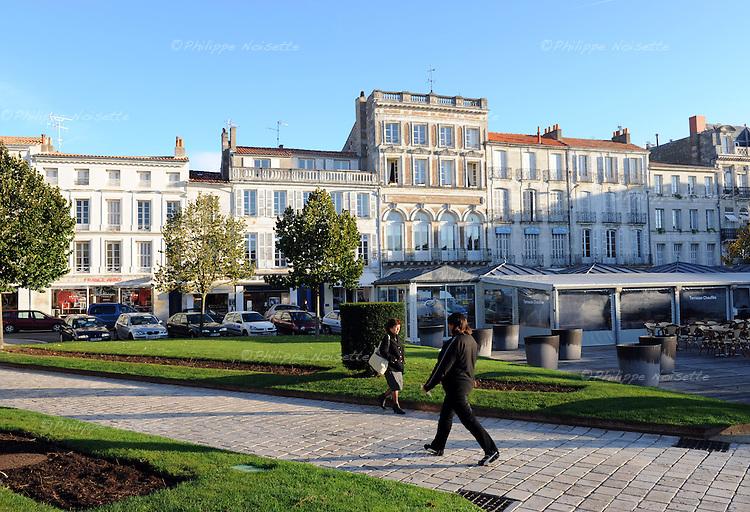 20081023 - France - Poitou-Charentes - Rochefort<br />La Place Colbert a Rochefort.<br />Ref : ROCHEFORT_030.jpg - &copy; Philippe Noisette.