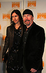 The Edge and Morleigh Steinburg at the Food Bank for New York City as they present the 8th Annual Can-Do Awards Dinner 2010 on April 20, 2010 at Pier Sixty at Chelsea Piers, New York City, New York. (Photo by Sue Coflin/Max Photos)