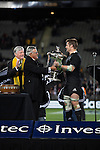 Richie McCaw. All Blacks beat Australia 22-0. Eden Park, Auckland. 25 August 2012. Photo: Marc Weakley