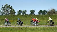 Nederland - IJmuiden - 2019.   Senioren op de fiets. .  Foto Berlinda van Dam / Hollandse Hoogte