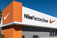 Nike Factory Store outlet, Kissimmee, Florida, USA.
