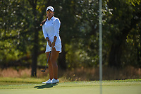 Maria Fassi (MEX) watches her putt on 12 during the round 3 of the Volunteers of America Texas Classic, the Old American Golf Club, The Colony, Texas, USA. 10/5/2019.<br /> Picture: Golffile   Ken Murray<br /> <br /> <br /> All photo usage must carry mandatory copyright credit (© Golffile   Ken Murray)
