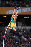 Kurtis MARSCHALL (AUS) in the mens pole vault final. IAAF world athletics championships. London Olympic stadium. Queen Elizabeth Olympic park. Stratford. London. UK. 08/08/2017. ~ MANDATORY CREDIT Garry Bowden/SIPPA - NO UNAUTHORISED USE - +44 7837 394578