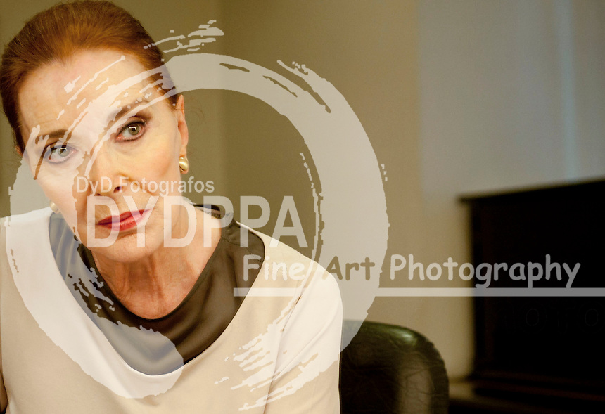 13/07/2012. Madrid Spain. Royal Theatre.  Spanish actress Nuria Espert.  (c) Eduardo Dieguez/ DyD fotografos