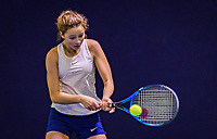 Hilversum, Netherlands, December 2, 2018, Winter Youth Circuit Masters, Loes Ebeling Koning (NED)<br /> Photo: Tennisimages/Henk Koster