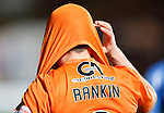 Dundee United v St Johnstone....21.11.15  SPFL,  Tannadice, Dundee<br /> John Rankin hides his head at full time<br /> Picture by Graeme Hart.<br /> Copyright Perthshire Picture Agency<br /> Tel: 01738 623350  Mobile: 07990 594431