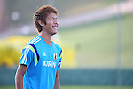 Yoichiro Kakitani (JPN),<br /> JUNE 22, 2014 - Football / Soccer : Japan's national soccer team training session at Japan's team base camp at Training Site Pass in Itu Brazil.<br /> (Photo by Kenzaburo Matsuoka/AFLO)