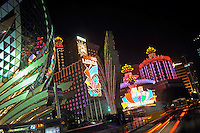 "Casinos light up the main boulevard and centre of Macau. Macau is known simply as ""Vegas"" in China. The former Portuguese colony, now a Chinese Special Administrative Region, attracts millions of Chinese gamblers annually and last year earned more gambling dollars than Las Vegas.."