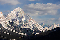 Europe/Italie/TVénétie/Dolomites/Cortina d'Ampezzo : Massif des Dolomites  le Mont Antelao