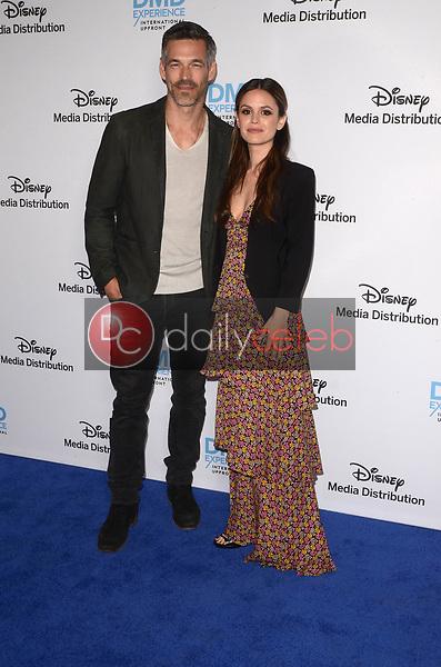 Eddie Cibrian, Rachel Bilson<br /> at the Disney ABC International Upfront, Walt Disney Studios, Burbank, CA 05-20-18<br /> David Edwards/DailyCeleb.com 818-249-4998