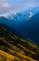 Nevado Umantay (5473 m), Salkantay trek, Peru, 2016.