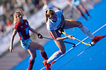 Krefeld, Germany, May 18: During the Final4 semi-final fieldhockey match between UHC Hamburg and Club an der Alster on May 18, 2019 at Gerd-Wellen Hockeyanlage in Krefeld, Germany. (worldsportpics Copyright Dirk Markgraf) *** Hanna Carina Granitzki #18 of Club an der Alster