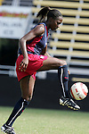 Tina Frimpong on Saturday, October 22nd, 2005 at Blackbaud Stadium in Charleston, South Carolina. The United States Women's National Team went through a light practice the day before a game against Mexico.