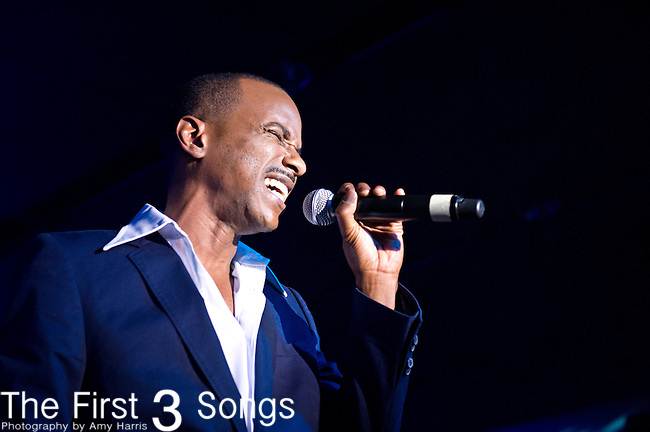 Tevin Campbell performs during the 2014 Essence Festival at the Mercedes-Benz Superdome in New Orleans, Louisiana.